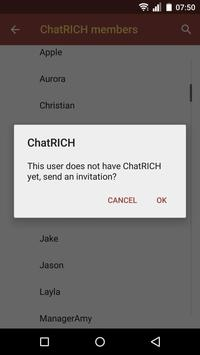 ChatRICH apk screenshot