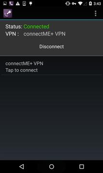 connectME+ VPN apk screenshot