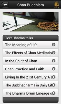 Chan Buddhism apk screenshot