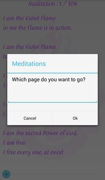 Violet Flame Invocations apk screenshot