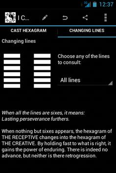 I Ching apk screenshot