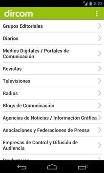 Directorio Dircom 2014 apk screenshot