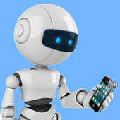 ChatBot chat with Bot AI icon