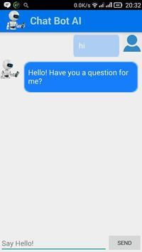 ChatBot chat with Bot AI poster