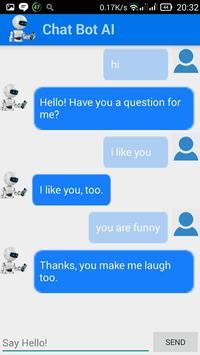 ChatBot chat with Bot AI apk screenshot