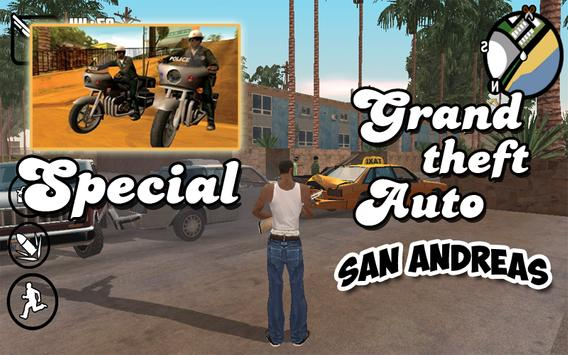 Special GTA San Andreas Guide poster