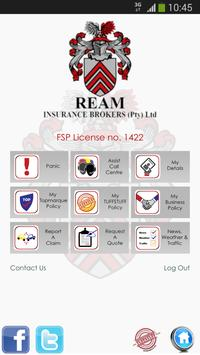 REAM Insurance Brokers poster