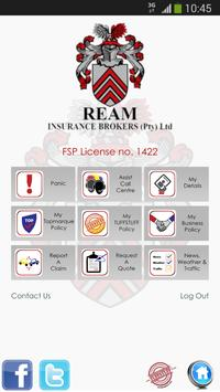 REAM Insurance Brokers apk screenshot