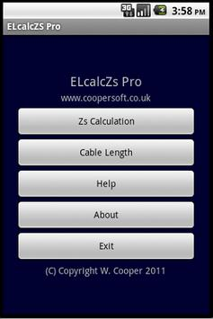 Cable Impedance Calculator Zs poster