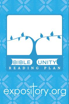 Bible Unity Reading Plan poster