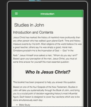 Study in John by David Dawson poster