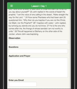 Study in John by David Dawson apk screenshot