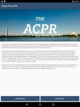 ACPR apk screenshot