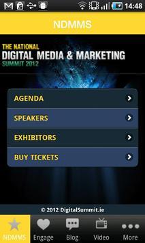 Digital Summit 2012 poster