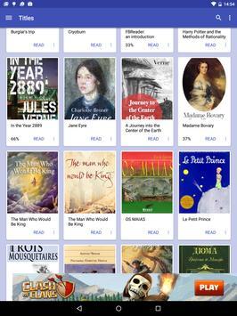 FBReader Bookshelf poster