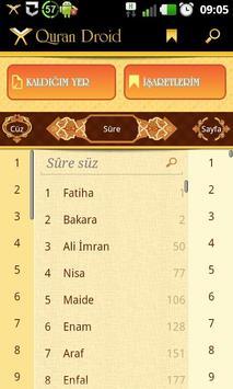 Quran Droid apk screenshot