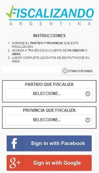 Fiscalizando Argentina poster