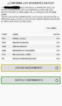 Fiscalizando Argentina apk screenshot