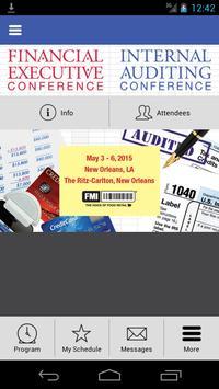 2015 FMI FE/IA Conference apk screenshot