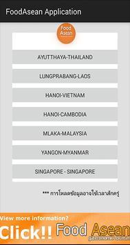 Food Asean Application poster