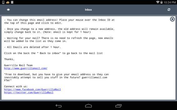 BongMail apk screenshot