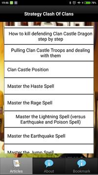 Strategy Clash of Clans Update apk screenshot