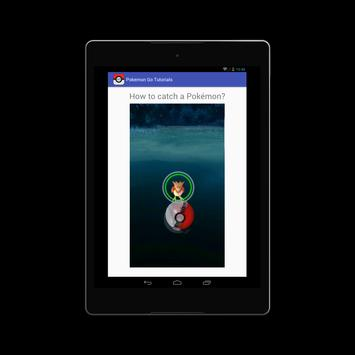 Free Pokemon Go Game Tutorial apk screenshot