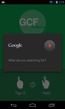 GCF Answers for Excel apk screenshot