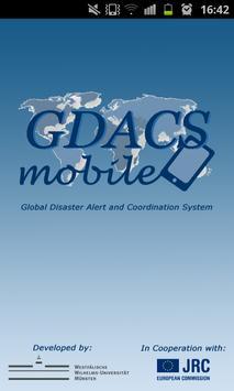 GDACSmobile poster