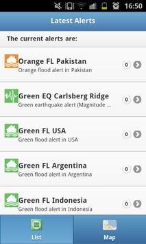 GDACSmobile apk screenshot