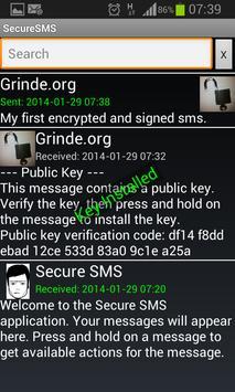 Sikker SMS poster
