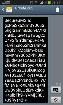 Sikker SMS apk screenshot