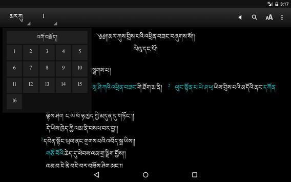 Central Tibetan Bible (CTB) apk screenshot