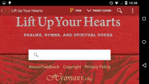 Lift Up Your Hearts apk screenshot