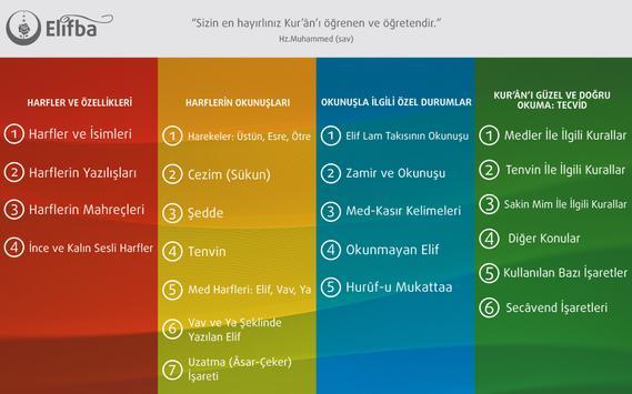 Tecvidli Kuran Elifbası apk screenshot