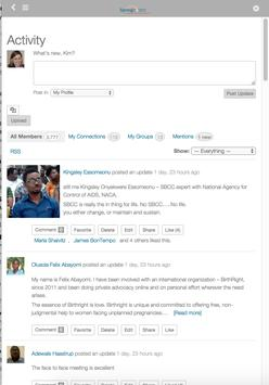 Springboard for Health Comm apk screenshot