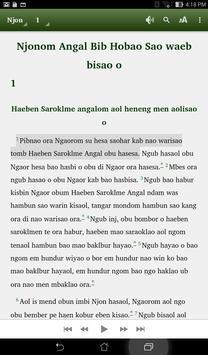 Angal Heneng Audio Bible apk screenshot