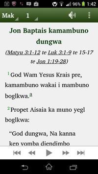 Kuman New Testament poster