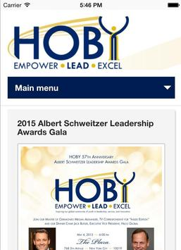 HOBY poster