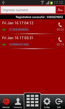 Enlace TPE Softphone apk screenshot