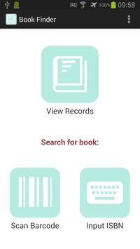 Book Finder - ISBN Scanner poster