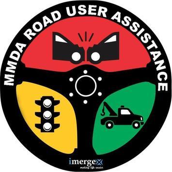MMDA Road User Assistance poster