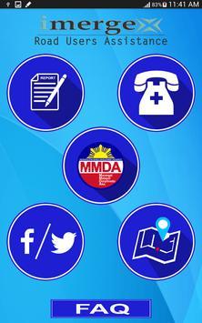 MMDA Road User Assistance apk screenshot