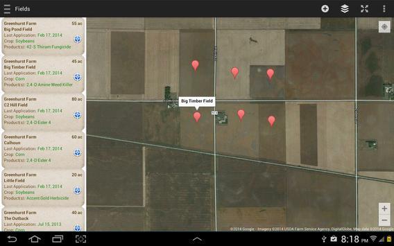 Pesticide and Field Records apk screenshot