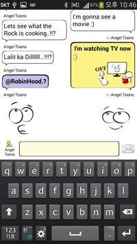 Toonschat Cartoon Messenger apk screenshot