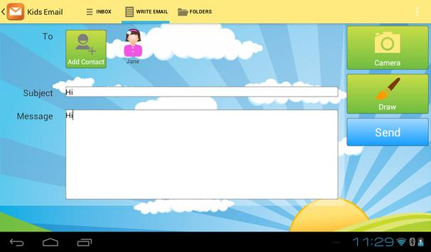 Kids Email - Email for Kids! apk screenshot