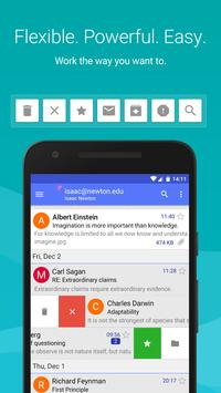 Aqua Mail - email app poster