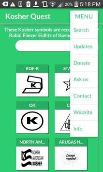 KosherQuest apk screenshot