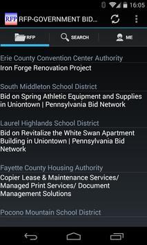 RFP-Government Bid & Contract apk screenshot