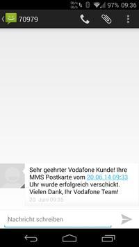 MMS-Postkarte apk screenshot